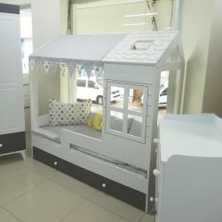 Nalya Mdf Yavru Yataklı Karyola 80x180